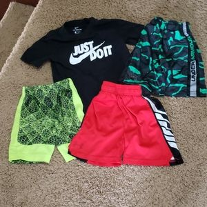 Bundle boys 4-6 shorts and tshirt